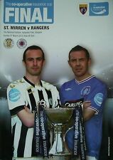 Scottish Cups Home Teams Final Football Programmes