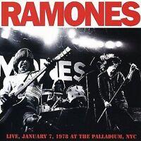 RAMONES Live, January 7, 1978 At The Palladium, NYC CD BRAND NEW