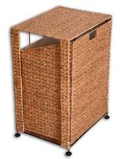 KMH® Wäschekorb Wäschebox Wäschesammler Wäschesortierer klappbar Wasserhyazinthe
