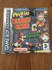 Mario Vs Donkey Kong Gba Nintendo New Boxed Sealed