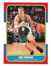 2006-07 Fleer 1986-87 20th Anniversary Luke Ridnour