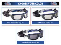 Bolle Baxter Safety Glasses Goggles ANSI Z87+ Work Eyewear Choose Color