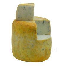 Dolls House Miniature Handmade Stilton Cheese