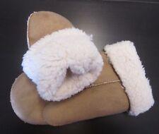 Señoras para mujer - - Soft-Warm-Invierno-afelpada -- Guantes-Mitones beige-Talla única