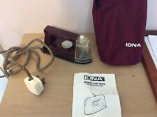 IONA MT797 VINTAGE PORTABLE MINI STEAM TRAVEL IRON