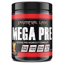 Primeval Labs MEGA PRE BLACK Pre-Workout 20/40 Servings ISLAND CANDY COCKTAIL