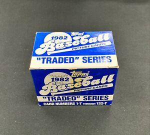 1982 Topps Traded Baseball Set MLB Missing Ripken And Smith # 98, 109