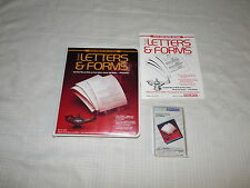 Smart Letters & Forms Adam Coleco Computer Software Coleco Used Complete