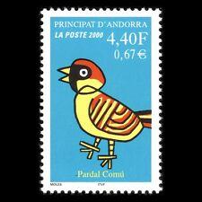 Andorra 2000 - Sparrow Fauna Brid Art Animals Cartoon - Sc 524 MNH