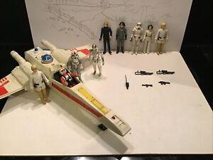 KENNER Star Wars Vintage 100% d'origine- X-Wing  et figurines année 77/78 et 80