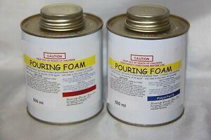Pouring Foam Polyurethane 25:1 expanding liquid foam 37kg per Cubic Metre 1litre