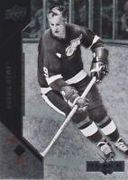 2011-12 Black Diamond Hockey #20 Gordie Howe Detroit Red Wings