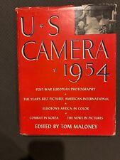 New listing U.S. Camera 1954 1st Edition Hardcover W. Dust Jacket