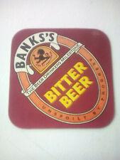 Vintage BANKS'S  /  BITTER BEER  Cat'No'231 Beermat / Coaster