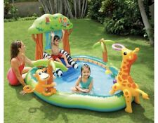 Intex Jungle Play Center Inflatable Pool with Sprayer - Will Ship today!