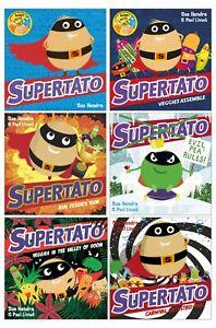 Supertato 6 Book Collection Set NEW (RRP £41.94) Sue Hendra