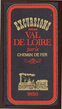 ADOLPHE JOANNE, EXCURSIONS EN VAL DE LOIRE PAR LE CHEMIN DE FER 1856