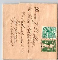 Switzerland 1938 Uprated Postal Wrapper to Germany - Z13134