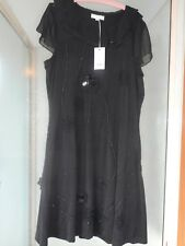 Boo Radley Black  Embellished Dress. Size X1/XXL. NWTA. Slips Over Head.