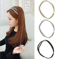 Korean Thin Lady Elastic Jewelry Women Fashion For Hairband Headband Hair Head