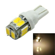 New Warm White 10 5630 LED T10 W5W Wedge Side Light Bulb Lamp