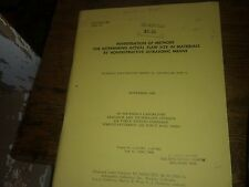 Investigation of Methods For Determining Actual Flaw Size in 1963 ASD-TR-61-205