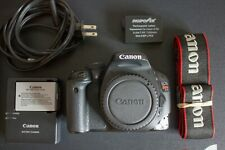 Canon T2i Camera Body with extra battery (Great Condition!)