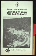 Vintage RACV TOURING GUIDE to QUEENSLAND & NSW  Visitor's Helpful advice Handboo