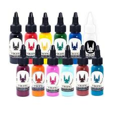 VIKING INK set 12 colores 1 oz TATTOO