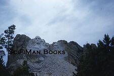 KODACHROME Red Border 35mm Slide South Dakota Mount Rushmore National Memorial!