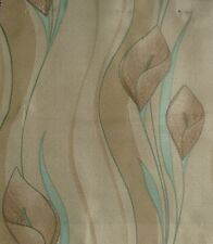 5Meters Brundall Curtains & Blinds Fabric - Peace Lily Floral Print - £13.50/M