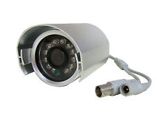 12 Volt Silver Dummy CCTV Camera With 12 Working Led`s