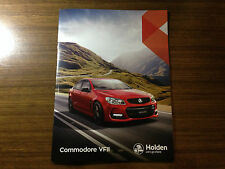 VF VF2 Holden Commodore SS SSV Redline Evoke Calais V SV6 brochure catalogue