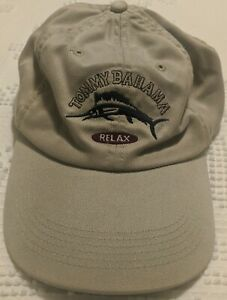 Tommy Bahama Relax Embroidered Marlin One Size Adjustable Unisex Baseball Cap