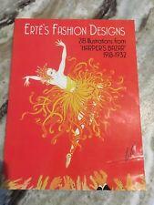 Erté's Fashion Designs 218 Illustrations From HARPER'S BAZAR 1918-1932