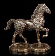 Steampunk Pferde Figur - Infinity Life - Veronese Gothic Pferd Roboter Statue