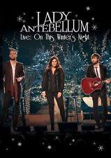 Lady Antebellum On This Winters Night  DVD New Sealed Australia Region 4