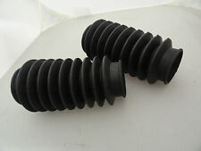 """K MODEL-SPORTSTER """"NEW REPO"""" SET OF FRONT FORK BOOTS FOR 1954-1970 #46001-54"""