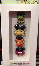 Disney Parks Muppets Magic Band Bandits Set of 4 Charms