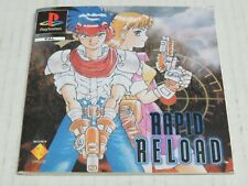 Rapid Reload Instruction Booklet Manual Playstation PS1 PAL Original