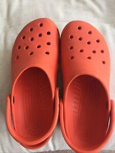 Mens crocs size 8