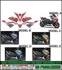 kit adesivi stickers compatibili tmax 2012 2014 530 50 wgp anniversary 2011