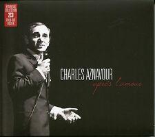 CHARLES AZNAVOUR APRES L'AMOUR - 2 CD BOX SET - ESSENTIAL COLLECTION