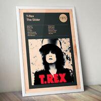 Album Print Lyrics Gift Tom Petty Poster Full Moon Fever Framed Original Art