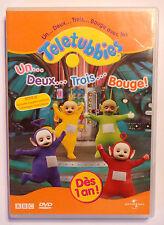 DVD DESSIN ANIME / TELETUBBIES UN DEUX TROIS BOUGE / UNIVERSAL