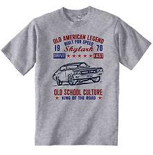 Vintage American Car Buick Skylark-Nuevo Algodón Camiseta