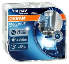 2er Set OSRAM Cool Blue Intense H4 P43t 64193CBI 2. Generation 4200K 60/55W 12V