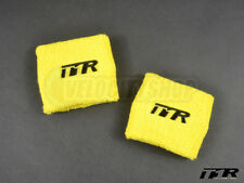 Type One Racing T1R Reservoir Covers Yellow (Pair)