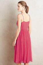 NWT SZ 4 $178 ANTHROPOLOGIE MARANA CHIFFON DRESS BY HD IN PARIS (SOLD OUT)