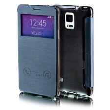 Für Apple iPhone 7 Plus Smartcover Window Schwarz Tasche Hülle Case Etui Schutz